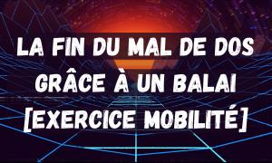 mal de dos exercice mobilite