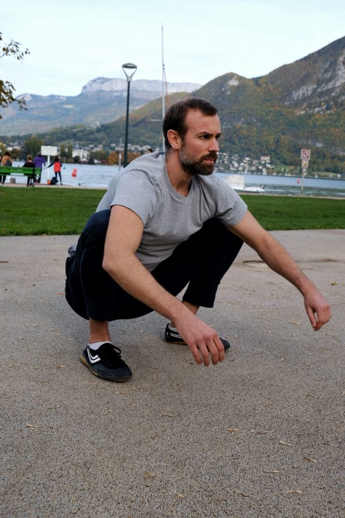 exercice mobilite squat complet